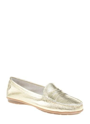 Divarese Loafer Ayakkabı Altın
